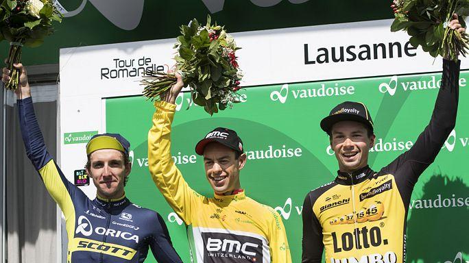 Richie Porte hat die 71. Ausgabe der Tour de Romandie gewonnen