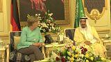 ميركل في زيارة رسمية إلى المملكة العربية السعودية