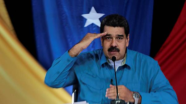 Maduro woos his core support following violent protests