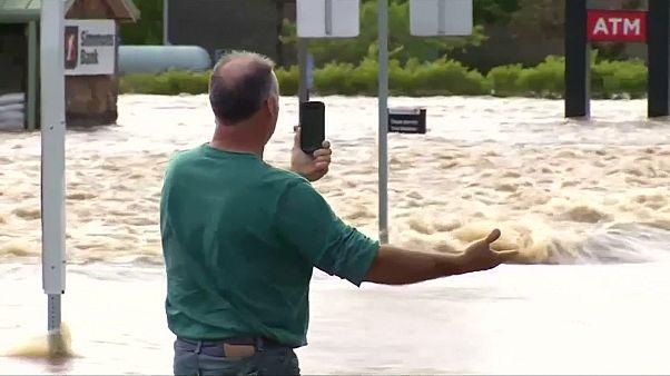 Usa: temporali, tornado e inondazioni in Missouri, Arkansas, Mississippi e Texas