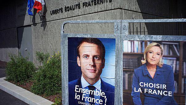 French election: Emmanuel Macron raises Frexit fears