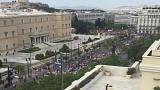 Μαζικές πορείες στην Αθήνα για την Εργατική Πρωτομαγιά