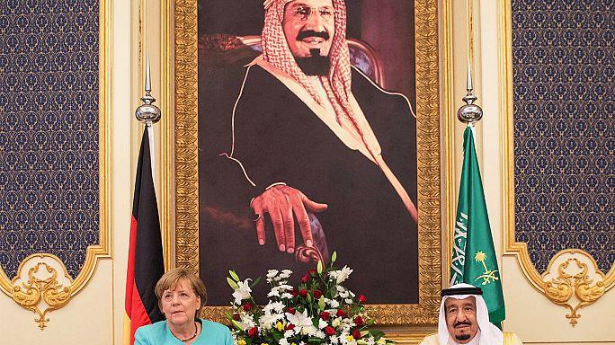 Angela Merkel en tournée dans les pays du Golfe