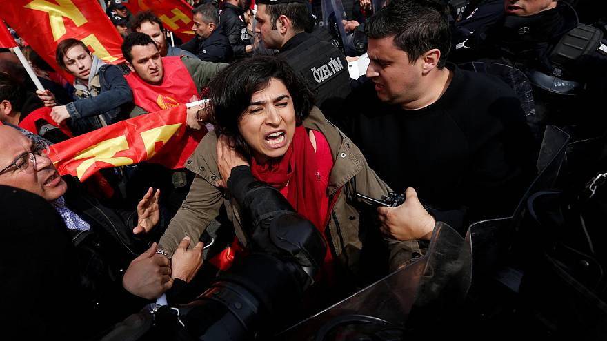 Turkey: More than 200 detained in May Day clashes