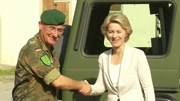 German defence minister under fire over terror suspect soldier
