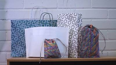 """Finland fights plastic pollution with """"green"""" bags"""