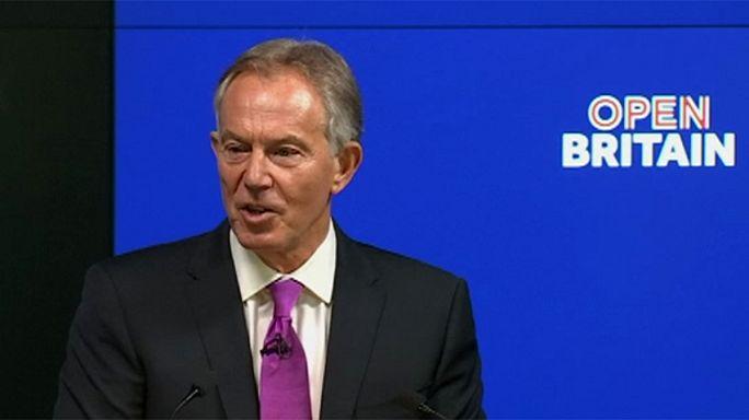 """Tony Blair admite regresso à política devido ao """"Brexit"""""""