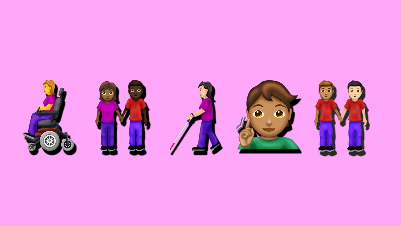 Illustration of new emojis.