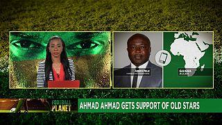 Soutient d'une ancienne gloire du football ghanéen au président de la CAF