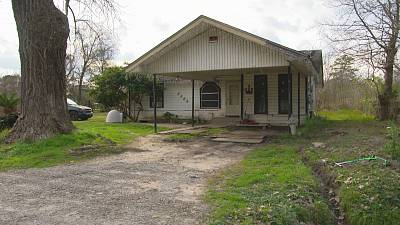 The home where Valladares was held hostage and killed in Houston, Texas.
