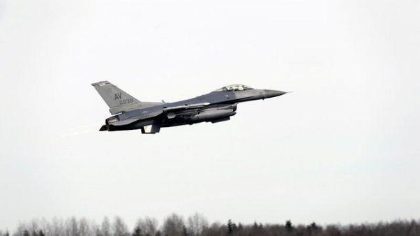 جنگنده های اف-۱۶ ناتو در افغانستان مستقر می شوند