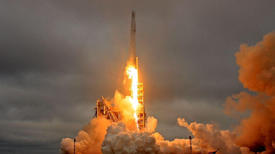 راکتِ فالکون ۹ ماهواره جاسوسی آمریکا را در مدار زمین قرار داد