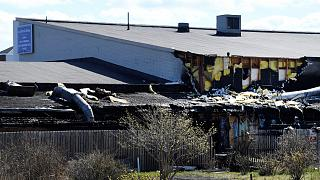 Swedish mosque damaged in suspected arson attack
