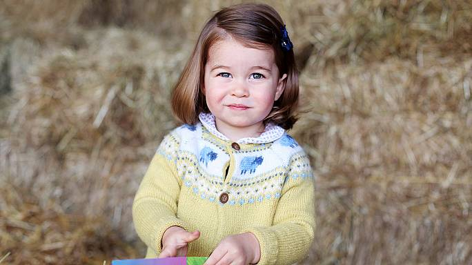 Kensington Palace releases rare photo of Princess Charlotte