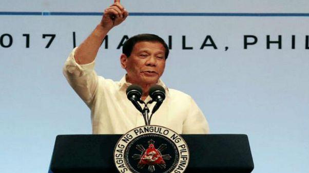 رئیس جمهوری فیلیپین می گوید فعلا نمی تواند دعوت ترامپ برای دیدار از آمریکا را بپذیرد