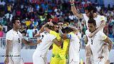 ایران با شکست نیجریه به یک چهارم نهایی جام جهانی فوتبال ساحلی راه یافت