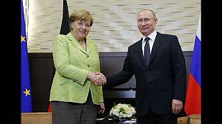 ميركل في زيارة الى بوتين بعد غياب سنتين