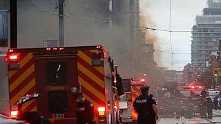 کانادا؛ وقوع انفجار در منطقه تجاری تورنتو