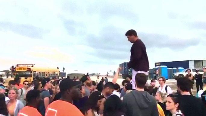 Fliegen und dreckige Zelte: 100 Mio-Dollar-Klage gegen das Fyre Festival