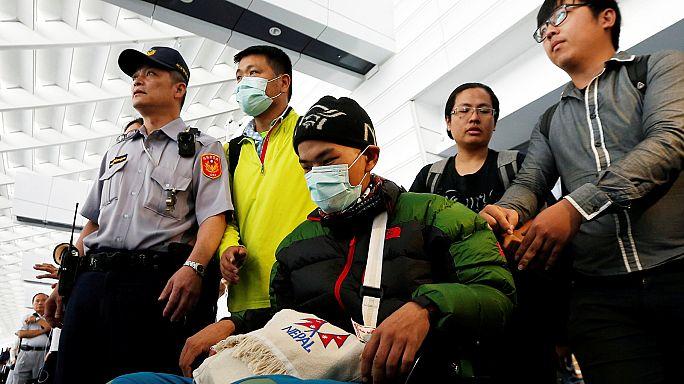 Retour à Taïwan du randonneur miraculé