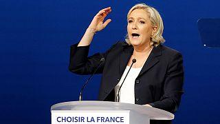 Για λογοκλοπή κατηγορείται η Μαρίν Λε Πεν
