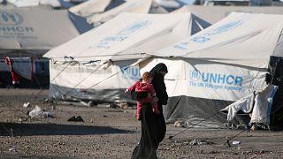 سوریه؛ دهها کشته در جریان حمله داعش به اردوگاه پناهجویان