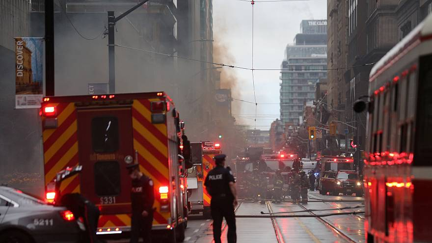 Blasts cause shock but no injuries in Toronto