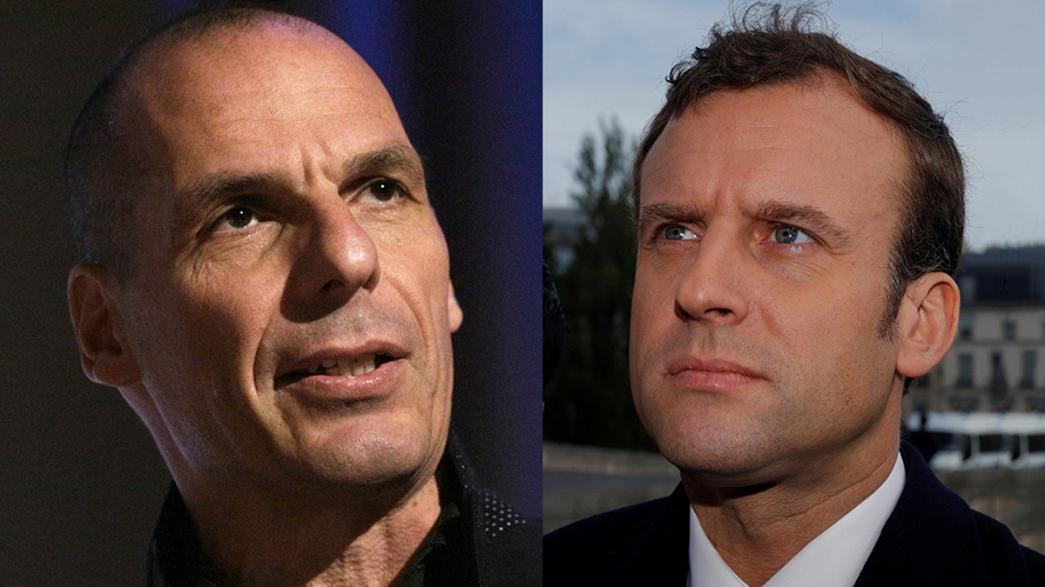 Varoufakis vota Macron