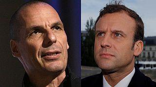 """Présidentielle : Varoufakis appelle à voter """"Macron"""""""