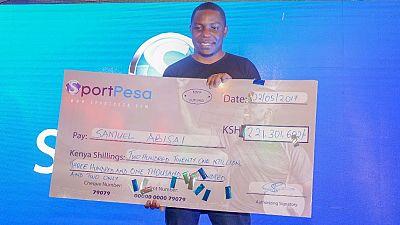 28-year-old Kenyan man wins $2 million football jackpot