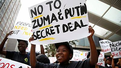 SA government says it won't back down on ruling against Russia nuclear deal