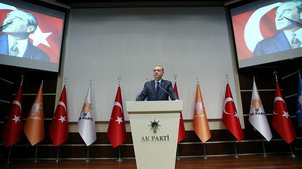بازگشت اردوغان به حزب عدالت و توسعه پس از همه پرسی