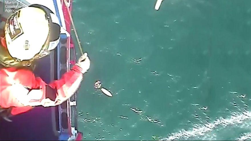 Escócia: Surfista é resgatado após 32 horas perdido no mar