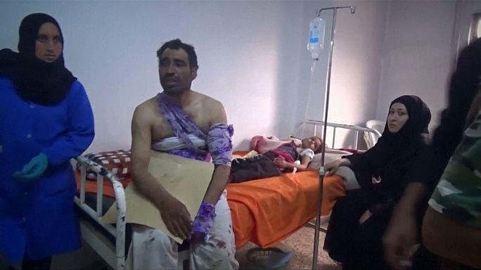 Sangriento ataque del grupo Estado Islámico a refugiados en Siria