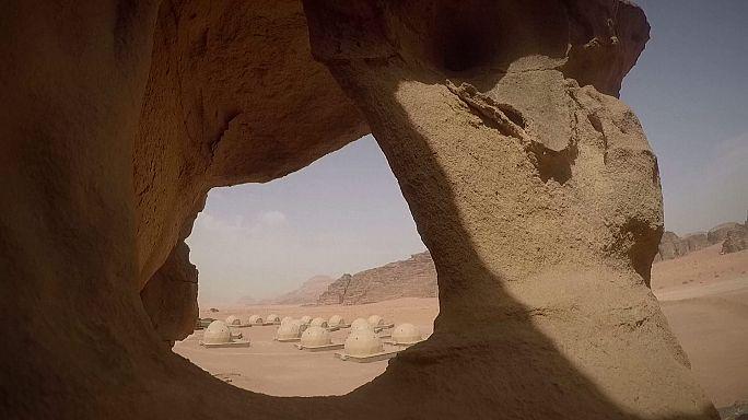 """Una experiencia """"marciana"""" en pleno desierto jordano"""