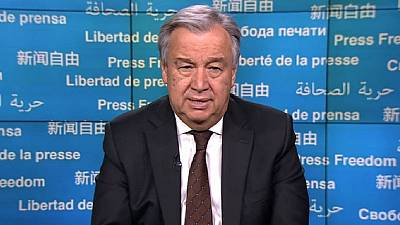 UN Chief calls for end to all media crackdown on World Press Freedom Day