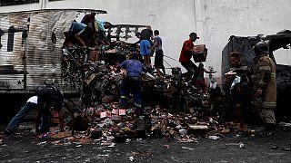 Buszokat gyújtottak fel Rióban