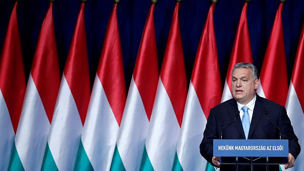 Image: Hungary PM Orban delivers annual state of the nation address