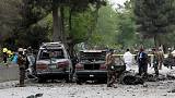 Kabil'de intihar eylemcisi NATO konvoyunu hedef aldı