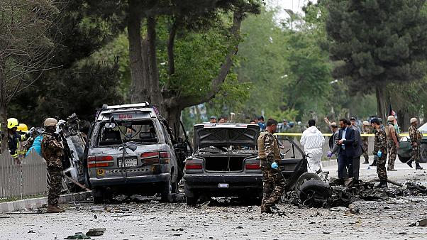 Kabul suicide blast kills 8, wounds dozens, including US soldiers