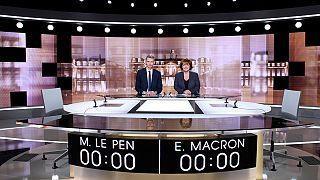 Debate Presidencial: Emmanuel Macron e Marine Le Pen debatem ideias esta noite