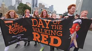 Australia: Ginger Pride Rally celebrates beauty of redheads