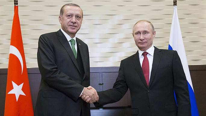 Путин и Эрдоган обсудили создание зон деэскалации в Сирии