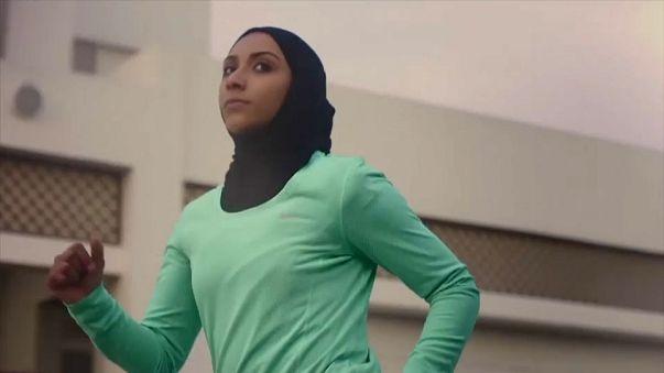 """شركة """"نايك"""" تطلق """"برو حجاب"""" للرياضيات المسلمات المحجبات"""