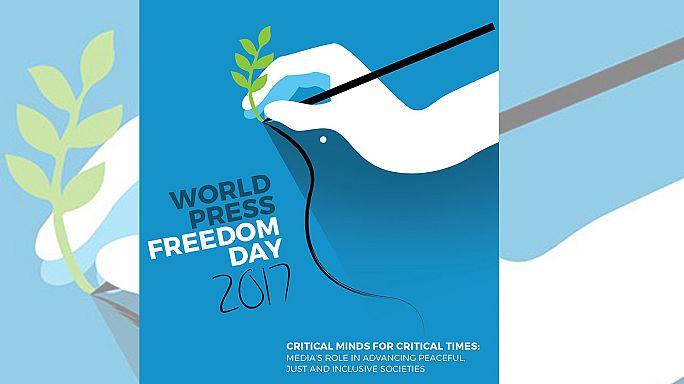 Dünya Basın Özgürlüğü Günü'nde Türkiye'ye tepki