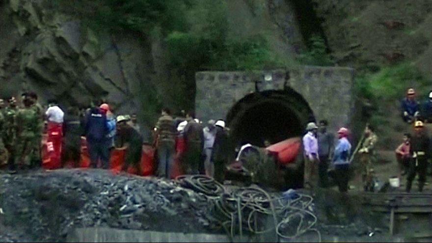 21-en meghaltak egy iráni bányaszerencsétlenségben