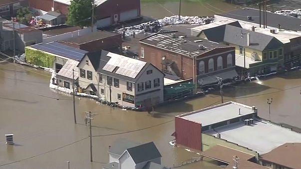 Nach starken Regenfällen: Schwere Überschwemmungen im Süden und mittleren Westen der USA