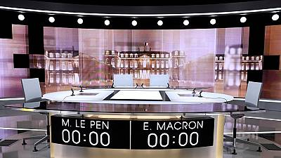 Macron and Le Pen face-off in final presidential debate