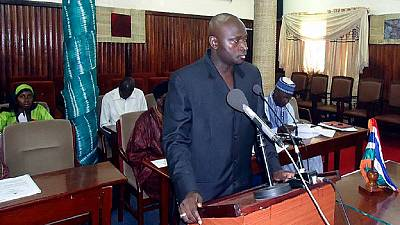 Detention of ex-Gambia interior minister extended in Switzerland