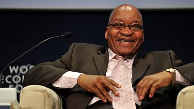 Zuma addresses WEF Africa on being booed and welcomes investors to Africa